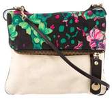 Mayle Leather-Trimmed Printed Bag