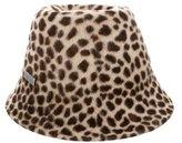 Philip Treacy Cheetah Print Hat