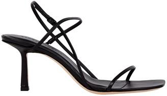 Studio Amelia 3.71 Leather Strappy Sandals