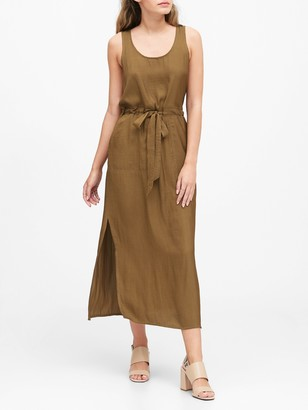 Banana Republic Utility Maxi Dress