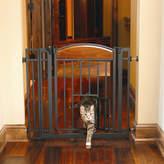 Design Studio Carlson Pet Walk Through Pet Gate with Small Pet Door