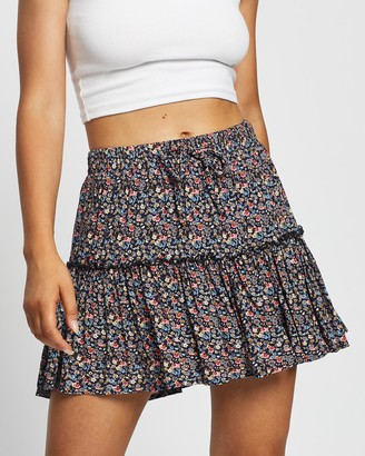 All About Eve Women's Black Mini skirts - Rochelle Skirt - Size One Size, 14 at The Iconic