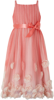 Under Armour Sienna 3D Rose Occasion Dress Pink