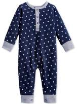 First Impressions 1-Pc. Star-Print Coverall, Baby Boys (0-24 months), Created for Macy's