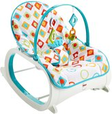 Fisher-Price Infant Toddler Design Rocker - Geo Diamonds