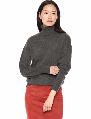 Theory Women's Drop Shoulder Turtleneck Sweater