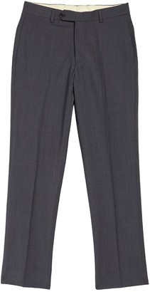 "Brooks Brothers Solid Wool Blend Trousers - 30-34"" Inseam"