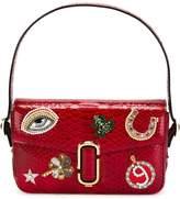 Marc Jacobs embellished patch shoulder bag