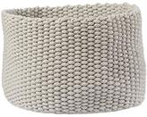 Baby Essentials Kneatly Knit Large Khaki Rope Bin