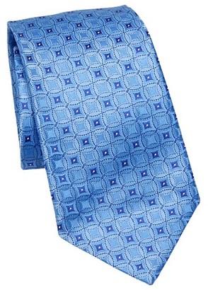 Emporio Armani Silk Medallion Tie