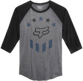 Fox Men's Raglan-Sleeve Logo-Print T-Shirt