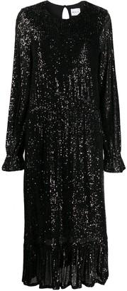 Blumarine Sequin Embellished Dress