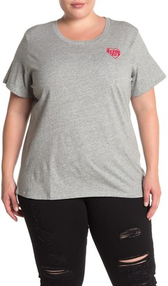 Levi's Perfect Heathered Logo T-Shirt (Plus Size)