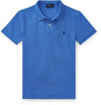Ralph Lauren Custom Fit Cotton Mesh Polo