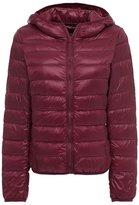 ZSHOW Women's Outwear Hooded Down Coat Light Packable Powder Pillow Down Jackets