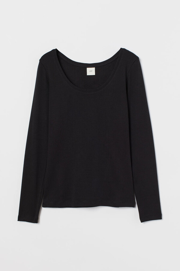 Thumbnail for your product : H&M Long-sleeved top