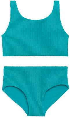 Arket Seersucker Bikini Set