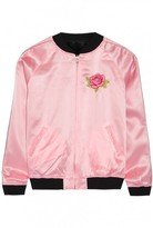 Opening Ceremony Pink Silk Jacket for Women