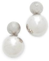 Rebecca Minkoff Double Sphere Stud Earrings