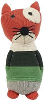 Anne Claire Hand-Crocheted Cotton Cat Rattle