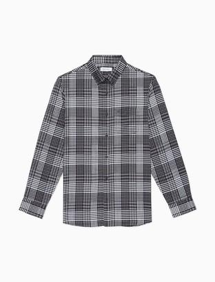 Calvin Klein Band Collar Denim Shirt