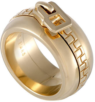 Boucheron Heritage  18K Zipper Motif Ring