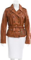 Golden Goose Deluxe Brand Studded Leather Jacket