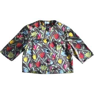 Basile Multicolour Silk Top for Women