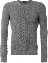 Drumohr cable knit jumper