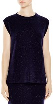 Sandro Billy Marled Sleeveless Sweater