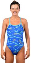 Women's Dolfin Bellas Print Tie-Back One-Piece Swimsuit