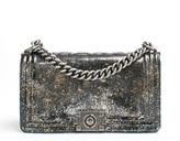 Chanel Limited Edition Old Medium Crystal Glitter Reverso Boy Bag