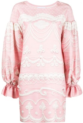 Moschino Jacquard Mini Dress