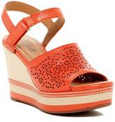 Clarks Zia Graze Platform Wedge Sandal
