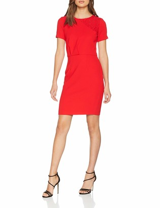 Morgan Women's 191-reine.n Party Dress Red Lipstick 8 (Size: T36)