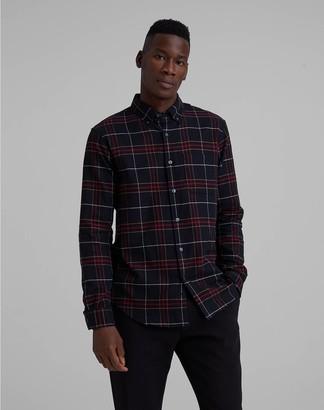 Club Monaco Check Flannel Shirt