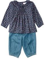 Ralph Lauren Floral Top & Denim Pant Set