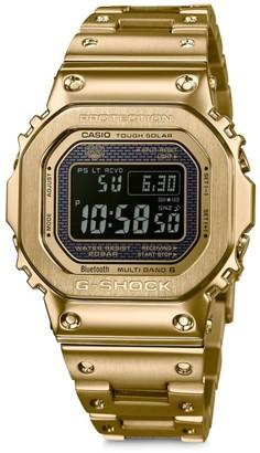 G-Shock Goldtone IP Digital Watch