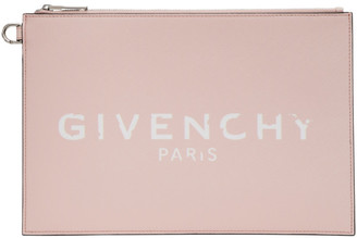 Givenchy Pink Paris Iconic Pouch