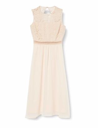 Amazon Brand - TRUTH & FABLE Women's Maxi Chiffon Dress