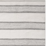 Williams-Sonoma Williams Sonoma Perennials® Awning Stripe Indoor/Outdoor Rug, Gray
