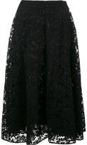 Valentino heavy lace skirt - women - Silk/Cotton/Polyamide/Viscose - 38