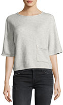Current/Elliott The Painter Pocket Tee, Gray