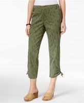 Style&Co. Style & Co Printed Capri Pants, Created for Macy's
