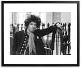 Sonic Editions Hendrix, London (Framed)