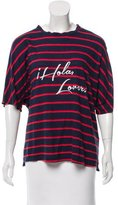 Rebecca Minkoff Embroidered Striped T-Shirt
