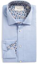 Ted Baker Prosper Trim Fit Solid Dress Shirt