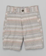 Micros Gray Hancho Shorts - Toddler