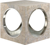 The Lacquer Company Circles & Squares Side Table