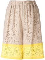 No.21 lace shorts